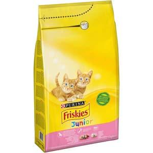Hrana uscata pentru pisici FRISKIES Junior, Pui, lactate si legume, 1.5 kg