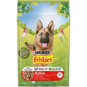 Hrana uscata pentru caini FRISKIES Vitafit Active, Vita, 10 kg