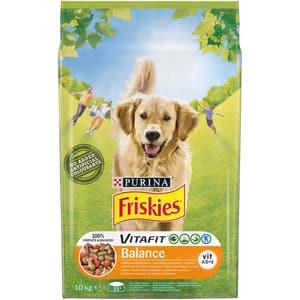 Hrana uscata pentru caini FRISKIES Vitafit Balance, Pui si legume, 10 kg