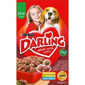Hrana uscata pentru caini DARLING Adult, Vita si Legume, 10 kg