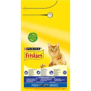 Hrana uscata pentru pisici FRISKIES Adult, Somon si legume, 1.5 kg