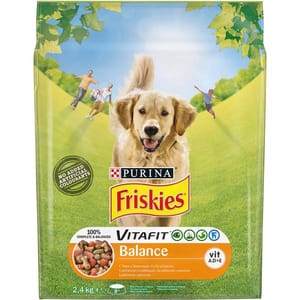 Hrana uscata pentru caini FRISKIES Vitafit Balance, Pui si legume, 2.4 kg