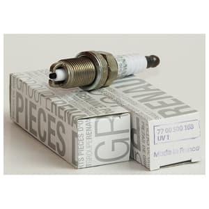 Bujie originala Logan benzina, cod 7700107916, 2 electrozi