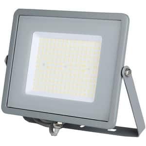 Proiector LED V-TAC 770, 100W, 12000 lumeni, IP65, lumina naturala, gri