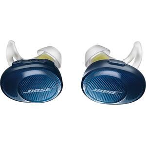 Casti BOSE SoundSport Free 774373-0020, True Wireless, Bluetooth, In-Ear, Microfon, albastru-galben