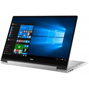 "Laptop 2-in-1 DELL Inspiron 7791, Intel Core i5-10210U pana la 4.2GHz, 17.3"" Full HD Touch, 8GB, SSD 256GB, NVIDIA GeForce MX250 2GB, Windows 10 Pro, argintiu"