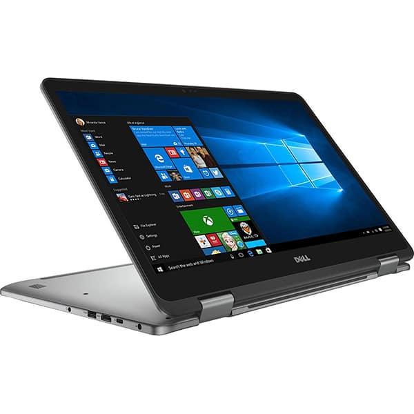 "Laptop 2 in 1 DELL Inspiron 7773, Intel® Core™ i7-8550U pana la 4.0GHz, 17.3"" Full HD Touch, 16GB, SSD 512GB, NVIDIA GeForce MX150 2GB, Windows 10 Pro"