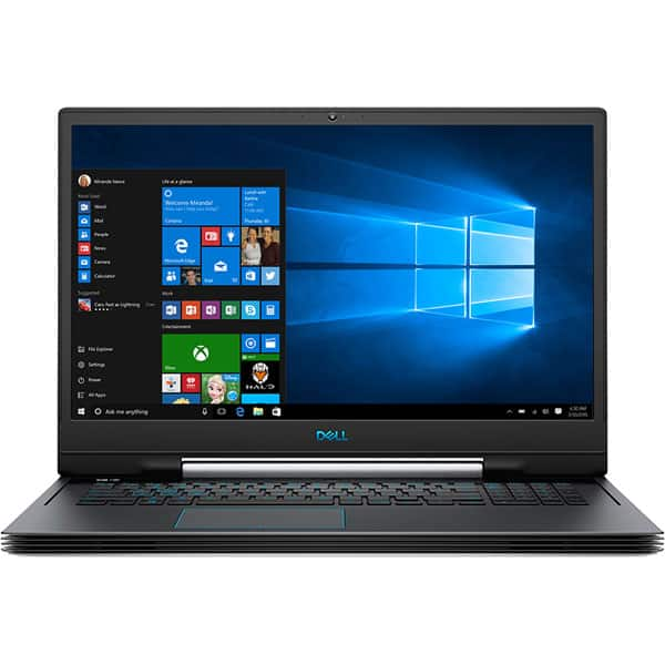 "Laptop Gaming DELL Inspiron G7 7790, Intel Core i9-9880H pana la 4.8GHz, 17.3"" Full HD, 16GB, SSD 512GB, NVIDIA GeForce RTX 2080 8GB, Windows 10 Pro, negru"