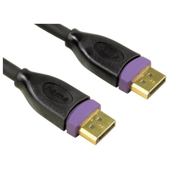 Cablu DisplayPort HAMA 78443, 3m, negru