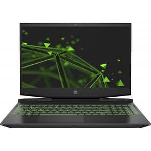 "Laptop Gaming HP Pavilion 15-dk0021nq, Intel Core i7-9750H pana la 4.5GHz, 15.6"" Full HD, 8GB, SSD 512GB, NVIDIA GeForce GTX 1660ti 6GB, Free DOS, negru"
