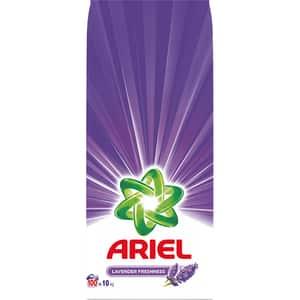 Detergent automat ARIEL Lavender, 10kg, 100 spalari