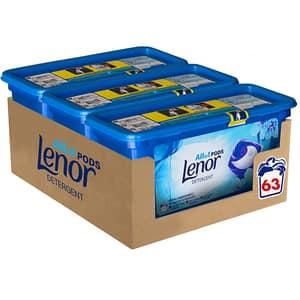 Detergent capsule LENOR All in One PODS Spring Awakening, 63 spalari