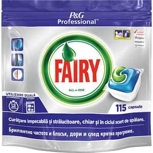 Detergent capsule pentru masina de spalat vase FAIRY Professional All in One, 115 spalari