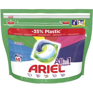 Detergent capsule ARIEL All in One PODS Color, 60 spalari