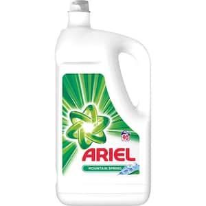 Detergent lichid ARIEL Mountain Spring 4.95l, 90 spalari