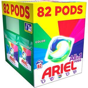 Detergent capsule ARIEL All in One PODS Color, 82 spalari