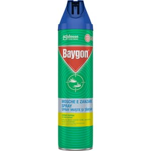 Spray anti-insecte zburatoare BAYGON, 400 ml