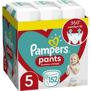 Scutece chilotei PAMPERS Pants XXL Box nr 5, Unisex, 12-17 kg, 152 buc