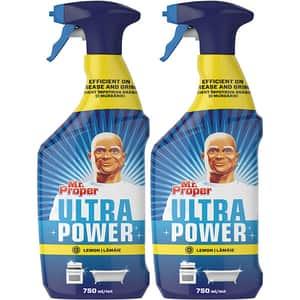 Pachet detergent universal MR. PROPER Ultra Power, 2 x  750ml