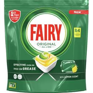 Detergent pentru masina de spalat vase FAIRY All in One, 84 capsule