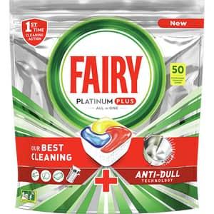 Detergent pentru masina de spalat vase FAIRY Platinum Plus, 50 capsule