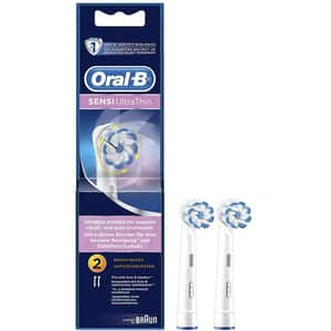 Rezerve periuta de dinti electrica ORAL-B Sensitive Ultra Thin EB60, 2buc