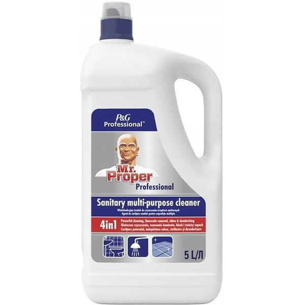 Detergent universal MR. PROPER Professional Sanitary pentru baie, 5 l