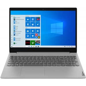 "Laptop LENOVO IdeaPad 3 15ARE05, AMD Ryzen 3 4300U pana la 3.7GHz, 15.6"" Full HD, 4GB, SSD 256GB, AMD Radeon Graphics, Windows 10 Home S, gri"