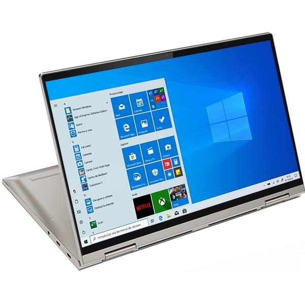 "Laptop 2 in 1 LENOVO Yoga C740-15IML, Intel Core i7-10510U pana la 4.9GHz, 15.6"" Full HD Touch, 16GB, 1TB, Intel UHD Graphics, Windows 10 Home, Mica"