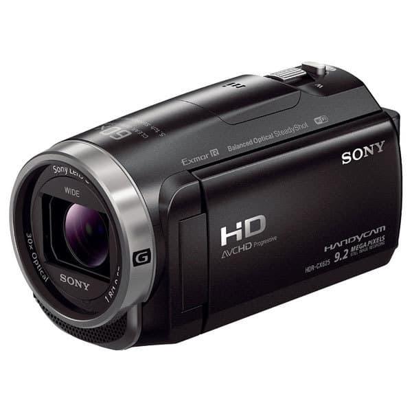 Camera video SONY Handycam HDR-CX625, Full HD, Wi-Fi, negru