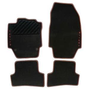 Set covorase auto premium RENAULT Captur negru-portocaliu 8201394371