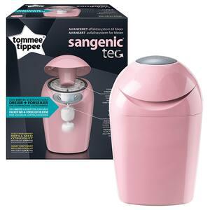 Cos pentru scutece TOMMEE TIPPEE Sangenic Tec, 28 scutece, roz
