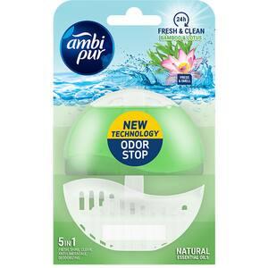 Odorizant toaleta AMBIPUR Fresh & Clean Bamboo & Lotus, 55 ml