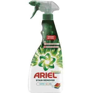 Spray pentru indepartare pete rufe ARIEL, 750 ml