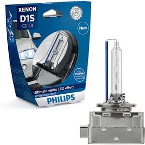 Bec auto Xenon PHILIPS Whitevision, D1S, 85V, 35W