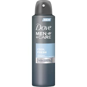Deodorant spray antiperspirant DOVE Men+Care Cool Fresh, pentru barbati, 150ml