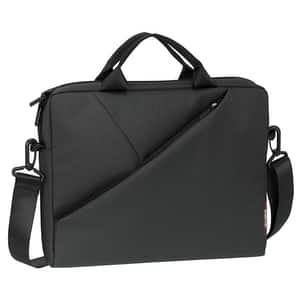 "Geanta laptop RIVACASE 8730, 15.6"", poliester, gri"