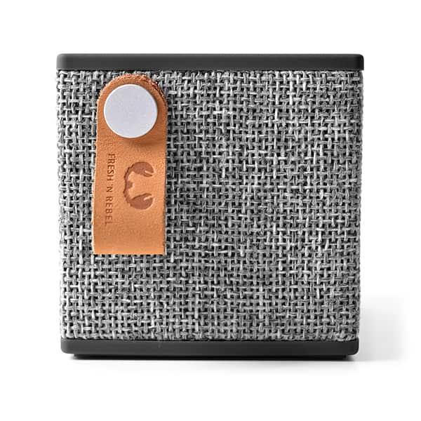 Boxa portabila FRESH 'N REBEL RockBox Cube 156790, Bluetooth, Concrete