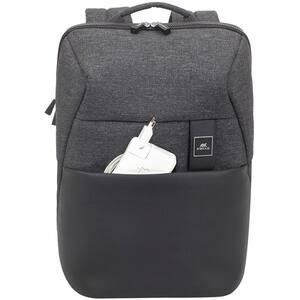 "Rucsac laptop RIVACASE 8861, 15.6"", poliuretan, negru"