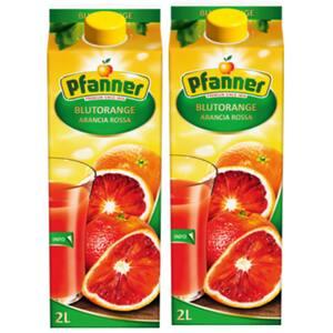 Bautura racoritoare necarbogazoasa PFANNER Portocale Rosii 2L x 2 cutii