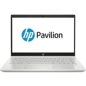 "Laptop HP Pavilion 14-ce1002nq, Intel Core i5-8265U pana la 3.9GHz, 14"" Full HD, 8GB, SSD 256GB, Intel UHD Graphics 620, Free Dos, argintiu"