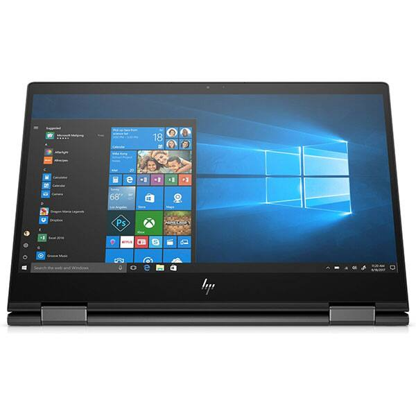 "Laptop 2 in 1 HP Envy X360 13-ar0025nn, AMD Ryzen 7-3700U pana la 4GHz, 13.3"" Full HD Touch, 16GB, SSD 512GB, AMD Radeon RX Vega 10, Windows 10 Home, negru"