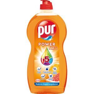 Detergent de vase PUR Power Orange&Grapefruit, 1350 ml