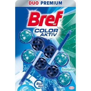 Odorizant toaleta BREF Color Water Eucalipt, 2 x 50g