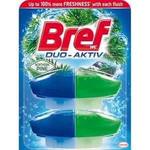 Rezerva odorizant toaleta BREF Duo-Aktiv Pine, 2 x 50ml