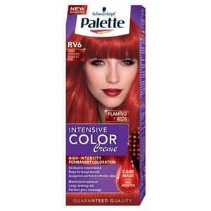Vopsea de par PALETTE Intensive Color Creme, RV6 Rosu Stacojiu, 110ml