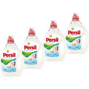 Pachet promo: Detergent lichid PERSIL Gel Sensitive, 4 x 2 l, 160 spalari