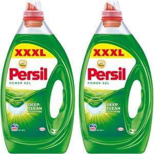 Pachet promo: Detergent lichid PERSIL Universal Gel, 2 x 4 l, 160 spalari