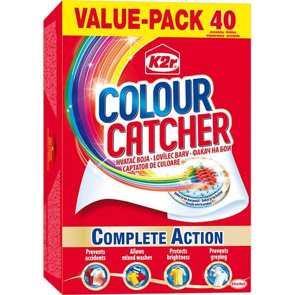 Servetele anti-transfer pentru rufe K2R Colour Catcher, 40 buc