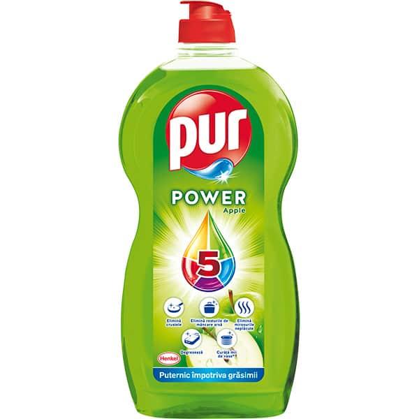 Detergent de vase PUR Power Apple, 1350 ml